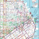 San Francisco Downtown Muni Map - Printable Map Of San Francisco Downtown