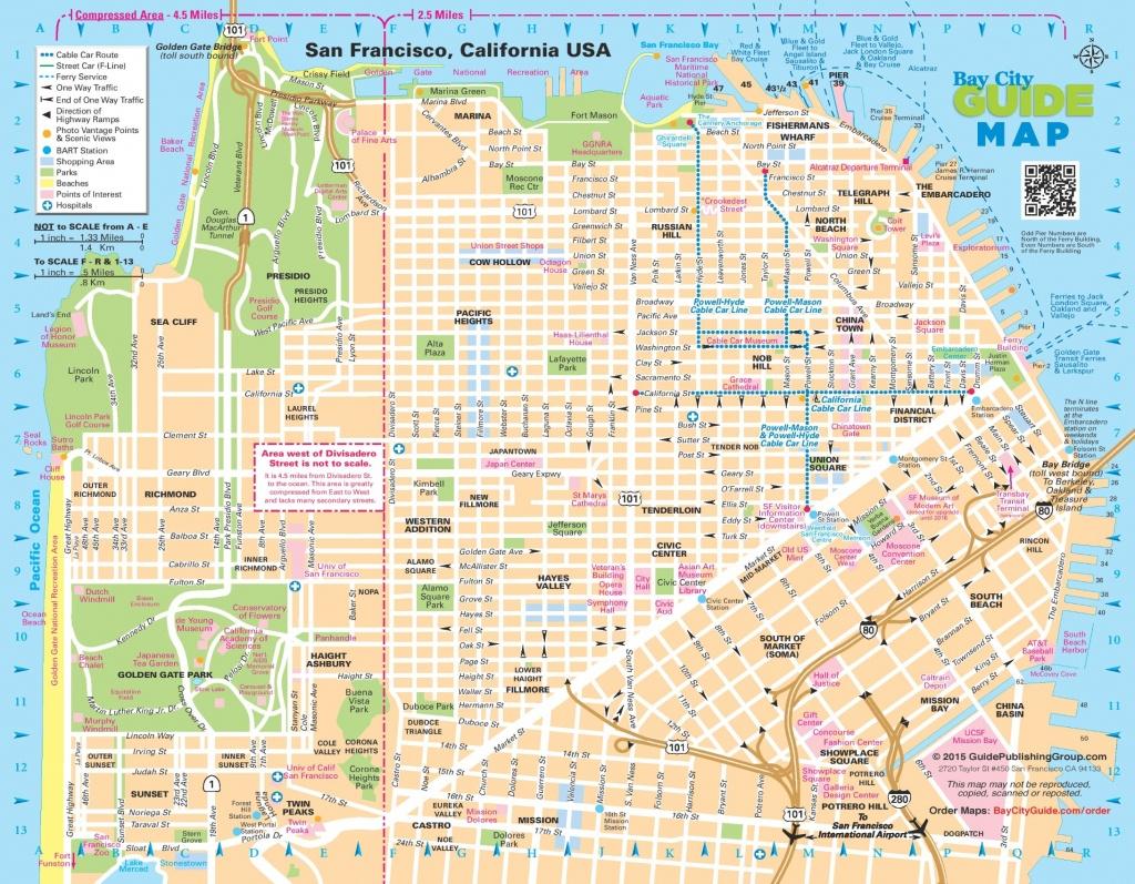 San Francisco Maps   California, U.s.   Maps Of San Francisco - Printable Map Of San Francisco Streets