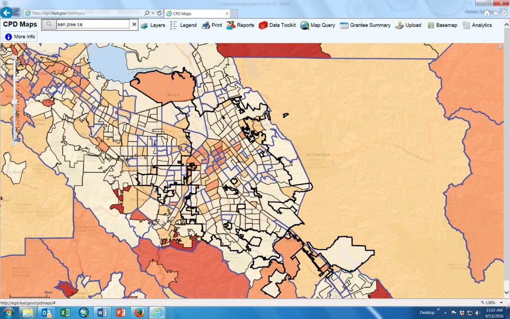 San Jose, Ca - Official Website - Maps - San Jose California Map