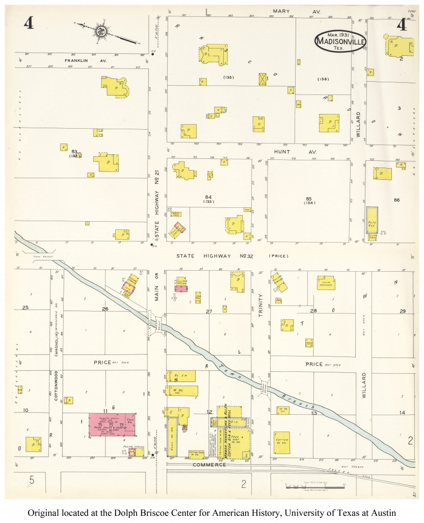Sanborn Maps Of Texas - Perry-Castañeda Map Collection - Ut Library - Where Is Marble Falls Texas On The Map