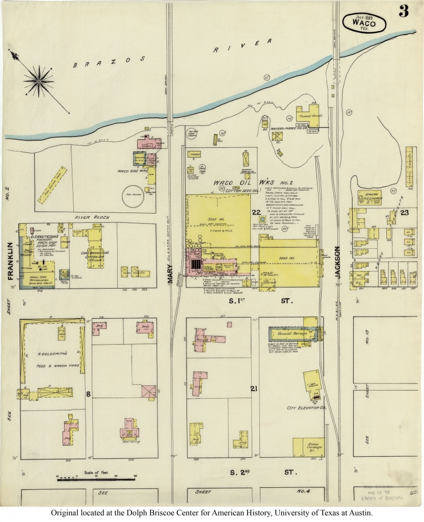 Sanborn Maps Of Texas - Perry-Castañeda Map Collection - Ut Library - Wylie Texas Map