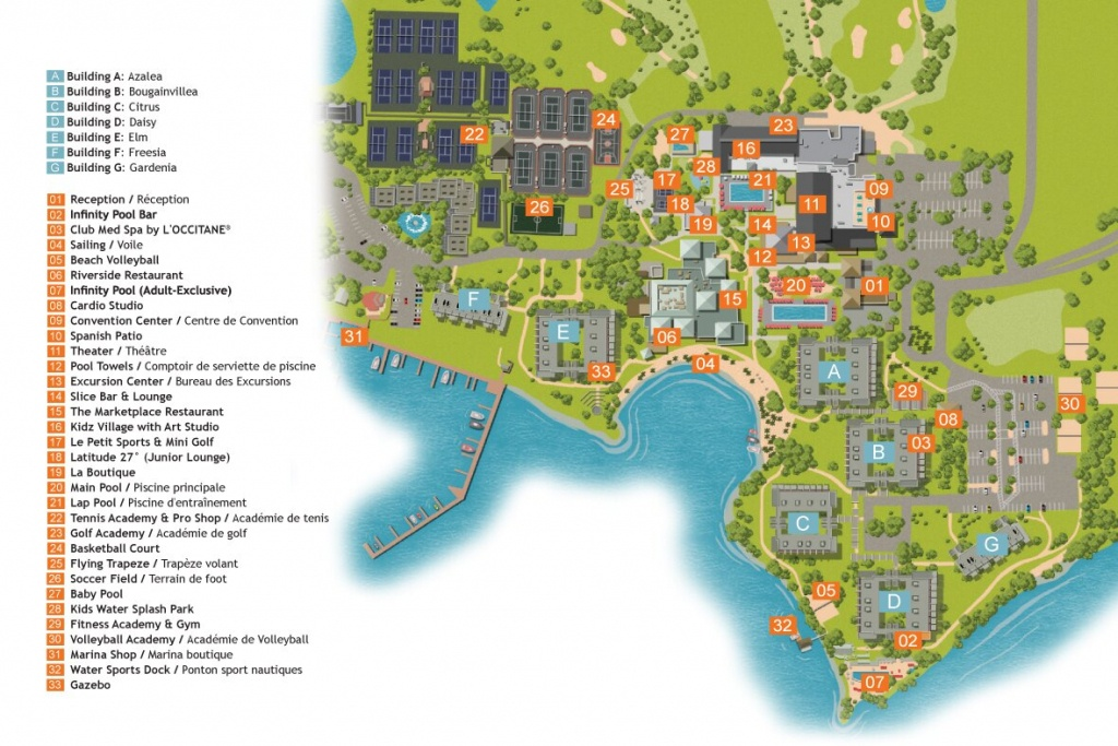 Sandpiper Bay- Florida / Usa | All-In Sports Holidays | Club Med - Club Med Florida Map