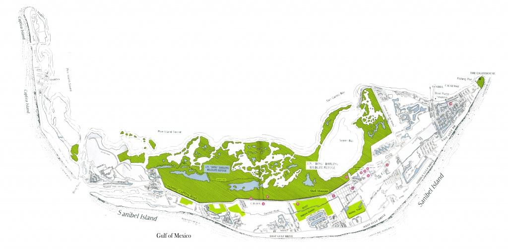 Sanibel And Captiva Island Maps, North Captiva Island Map - Captiva Florida Map