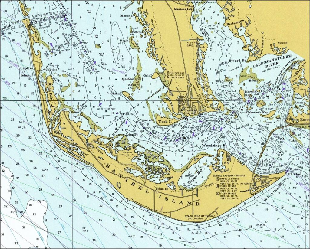Sanibel Island, 1977 - Where Is Sanibel Island In Florida Map