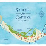 Sanibel Island Map To Guide You Around The Islands   Annabelle Island Florida Map