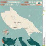 Santa Cruz County Map In California. Stock Vector - Illustration Of - Santa Cruz California Map