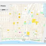Santa Monica City Map   Santa Monica California • Mappery   Where Is Santa Monica California On A Map