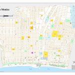Santa Monica City Map   Santa Monica California • Mappery   Where Is Santa Monica California On A Map