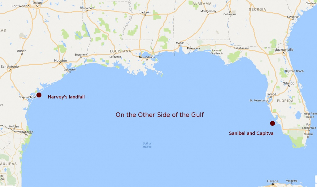 Santiva Today: Mayor Watches Weather; 'sanibel Is Ready' - Google Maps Sanibel Island Florida