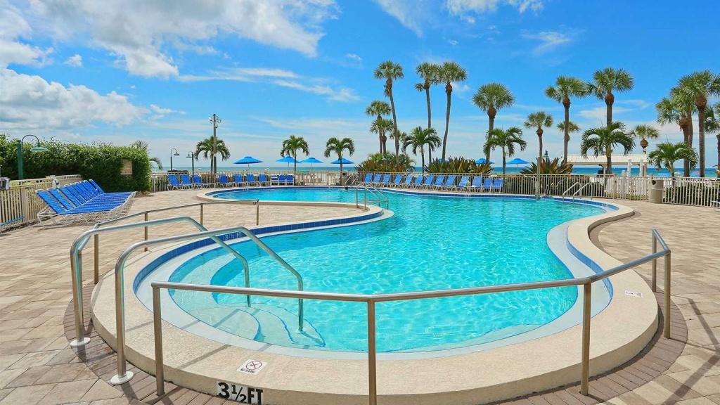 Sarasota Hotels | Sarasota Surf And Racquet Club Siesta Key Resort - Map Of Hotels In Sarasota Florida