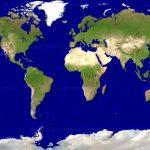 Satelite World Map ~ Afp Cv   Free Printable Satellite Maps