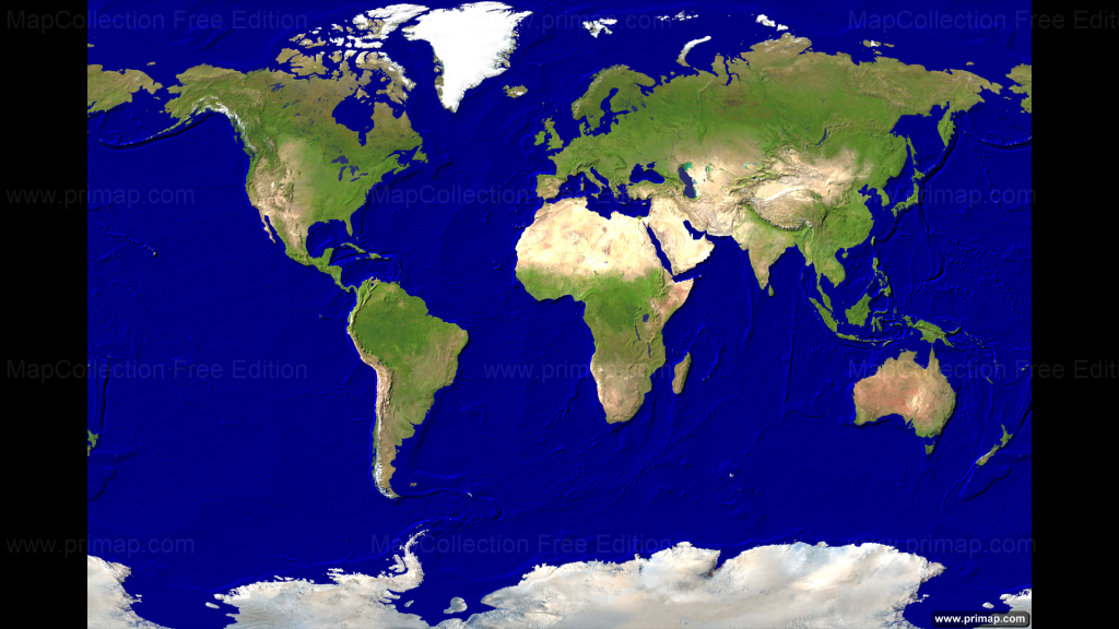 Satelite World Map ~ Afp Cv - Free Printable Satellite Maps