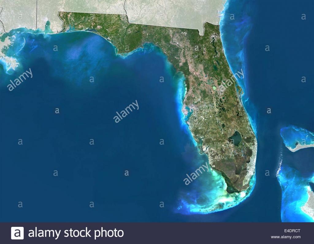 Satellite View Miami Map Florida Photos & Satellite View Miami Map - Satellite Map Of Florida