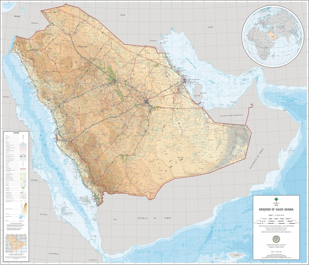 Saudi Arabian Maps | Maps Of Saudi Arabian - Printable Map Of Saudi Arabia
