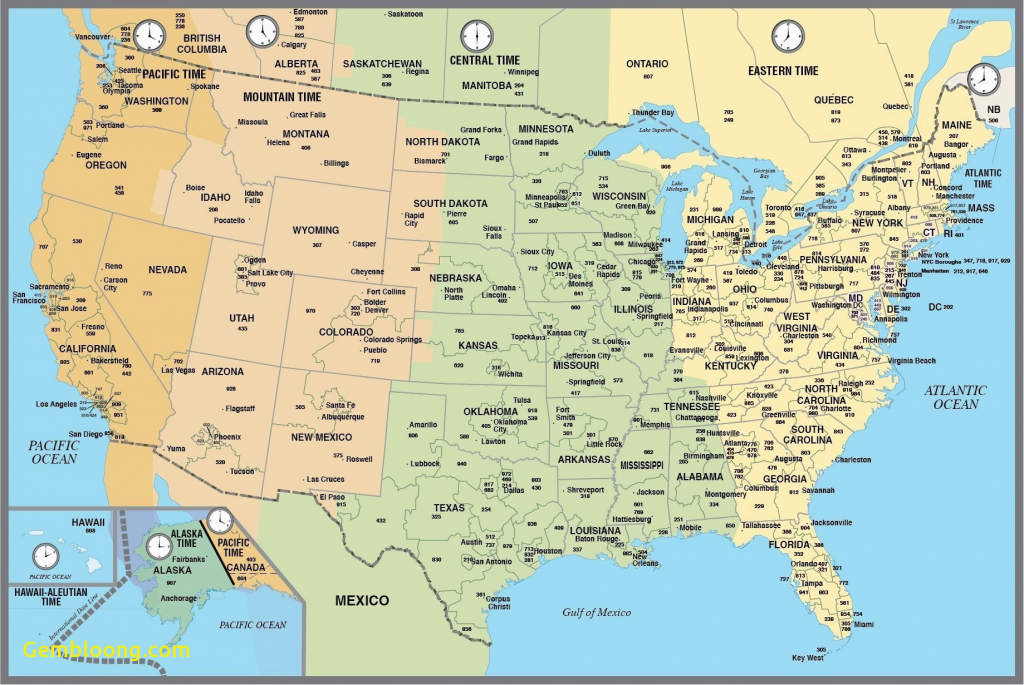 Save Map Of Time Zones For Us And Canada | Coliga.co - Printable Time Zone Map Usa And Canada