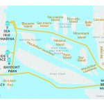 Schedule Rates For Water Taxi Miami | Miami Beach Water Taxi Schedule   Sunny Isles Florida Map