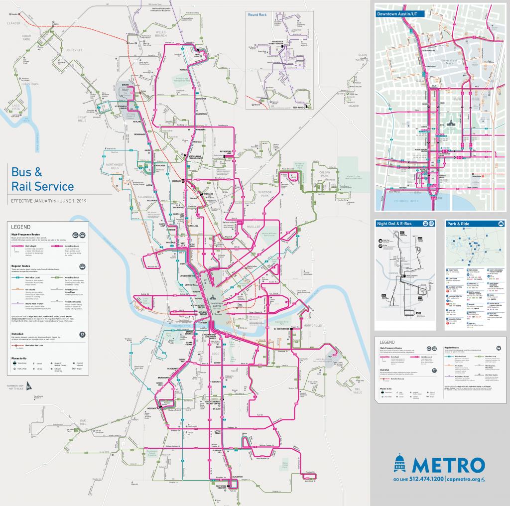 Schedules And Maps - Capital Metro - Austin Public Transit - Austin Texas Public Transportation Map