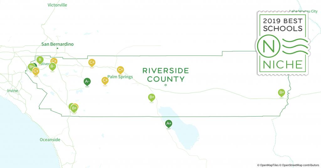 School Districts In Riverside County, Ca - Niche - California School District Rankings Map