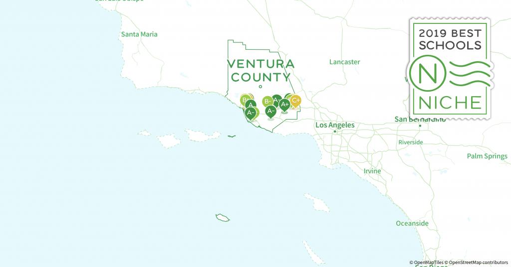 School Districts In Ventura County, Ca - Niche - California School District Rankings Map