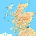 Scotland Road Map   Printable Map Of Scotland With Cities