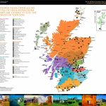 Scotland Tourist Attractions Map   Printable Map Of Scotland With Cities