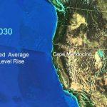 Sea Level Rise For The Coasts Of California, Oregon, And Washington   California Sea Level Rise Map