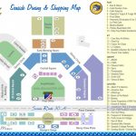 Seaside Dining And Shopping Map | Discover 30A Florida   Where Is Seaside Florida Located On Map