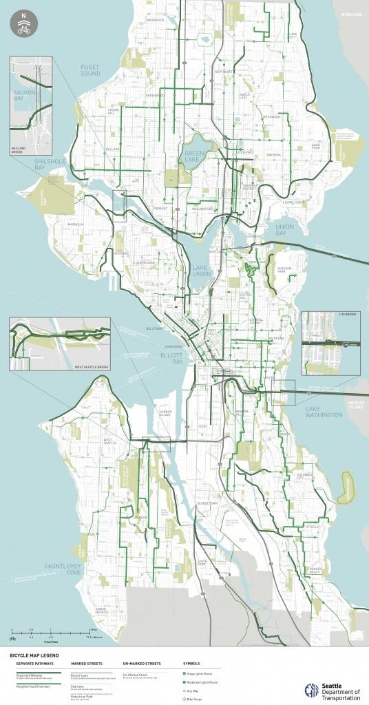 Seattle Area Bike Maps   Seattle Bike Blog - Printable Map Of Seattle