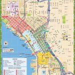 Seattle Tourist Map   Seattle Tourist Map Printable