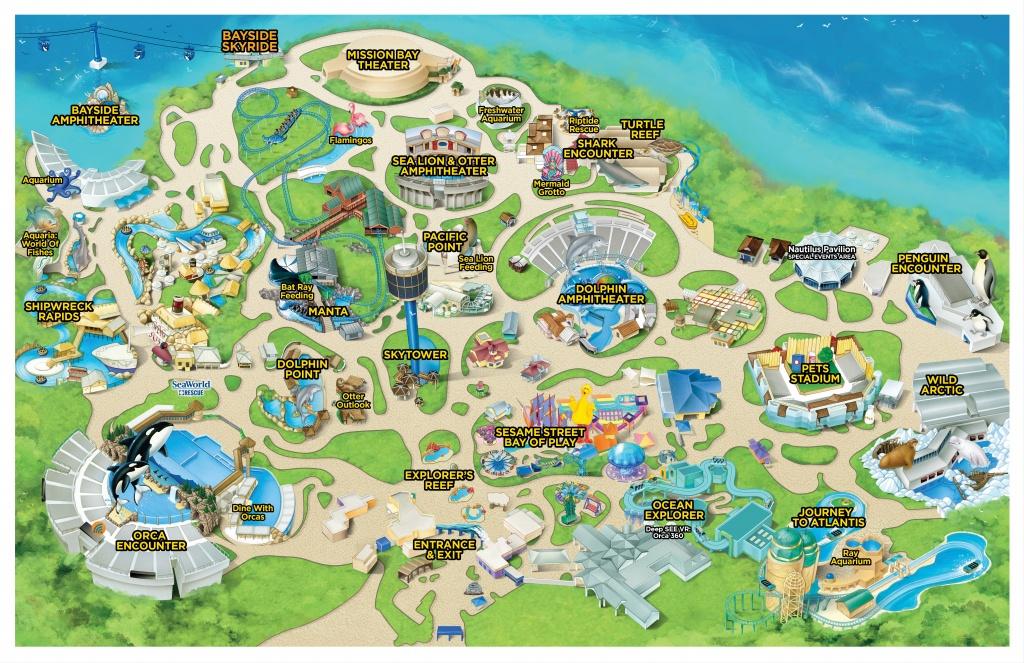 Seaworld California   Seaworld Parks And Entertainment - Seaworld California Map