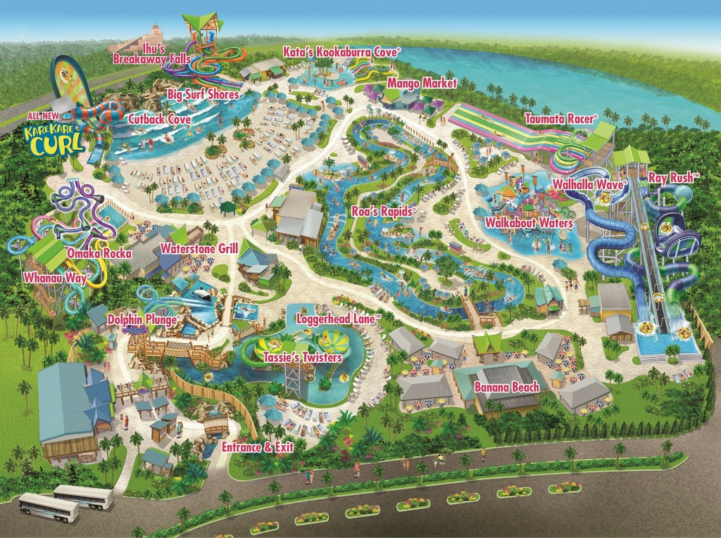 Seaworld Parks & Entertainment | Know Before You Go | Aquatica - Aquatica Florida Map