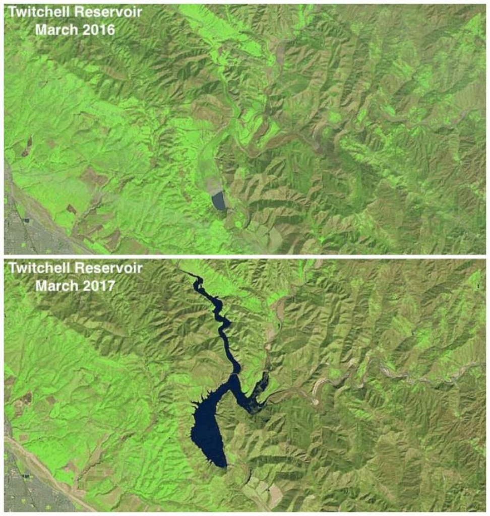 See California Reservoirs Fill Up In These Before-And-After Images - California Reservoirs Map