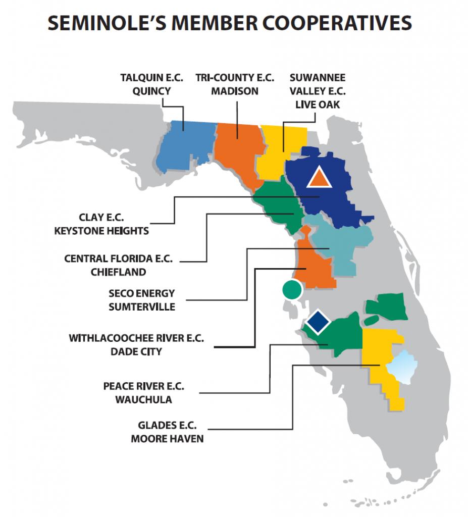 Seminole Electric Cooperative (Florida) · Issue #1713 · Tmrowco - Seminole Florida Map