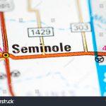 Seminole Texas Usa On Map Stock Photo (Edit Now) 794435122   Seminole Texas Map