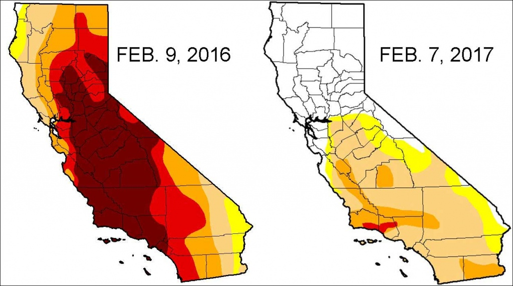 Severe Drought Down To 11 Percent In California - Nbc Southern - California Drought Map 2017