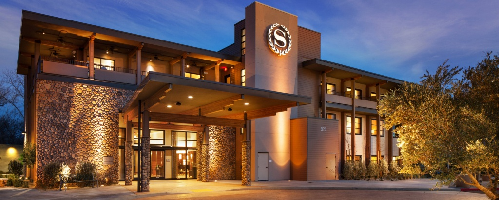 Sheraton Redding Hotel At The Sundial Bridge - Redding   Marriott Bonvoy - Spg Hotels California Map