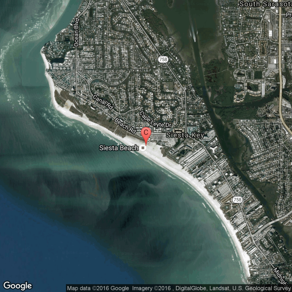 Siesta Key, Florida Lodging | Usa Today - Map Of Hotels In Siesta Key Florida