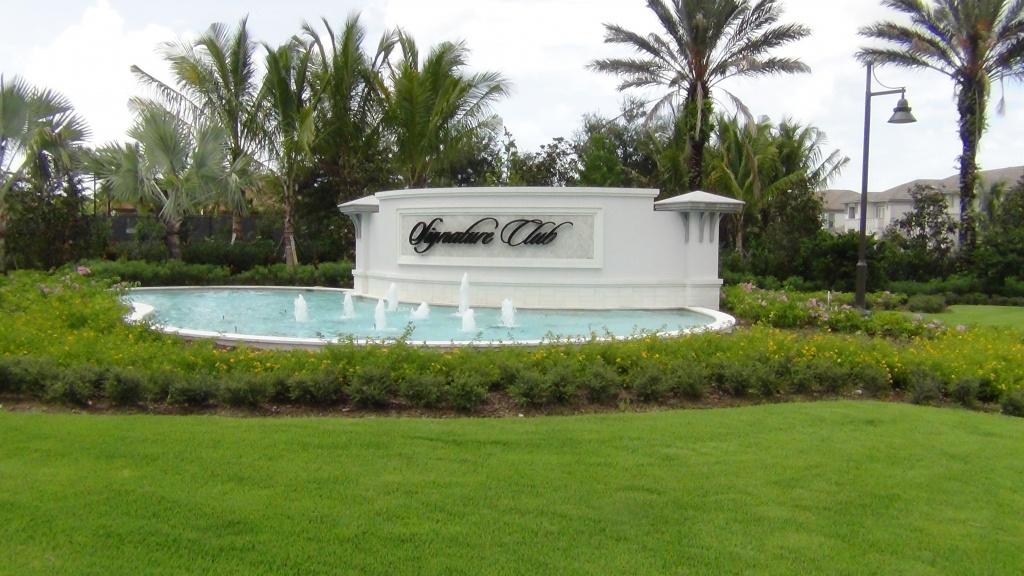Signature Club - Lely Resort Naples Florida Map