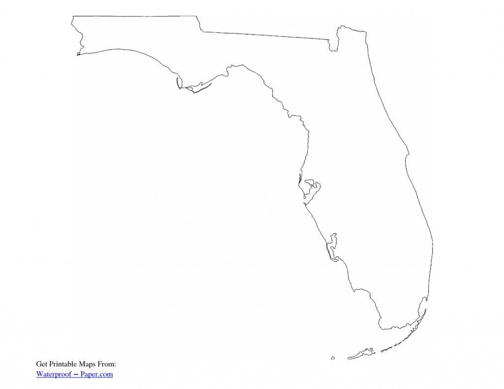 Simple Florida Outline - Google Search | Kabana Mural | Florida - Florida Map Outline Printable