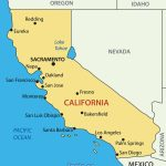 Simple Map Of California With Major Cities – Map Of Usa District   Simple Map Of California