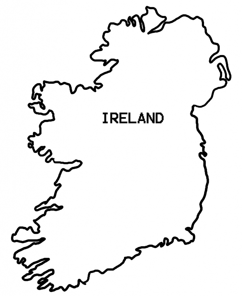Simple Map Of Ireland - Clipart Best | Countries Crafts And Things - Printable Blank Map Of Ireland
