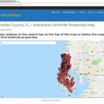 Sinkhole Maps For Home Buyers And Home Owners In Florida   Youtube   Florida Sinkhole Map 2018