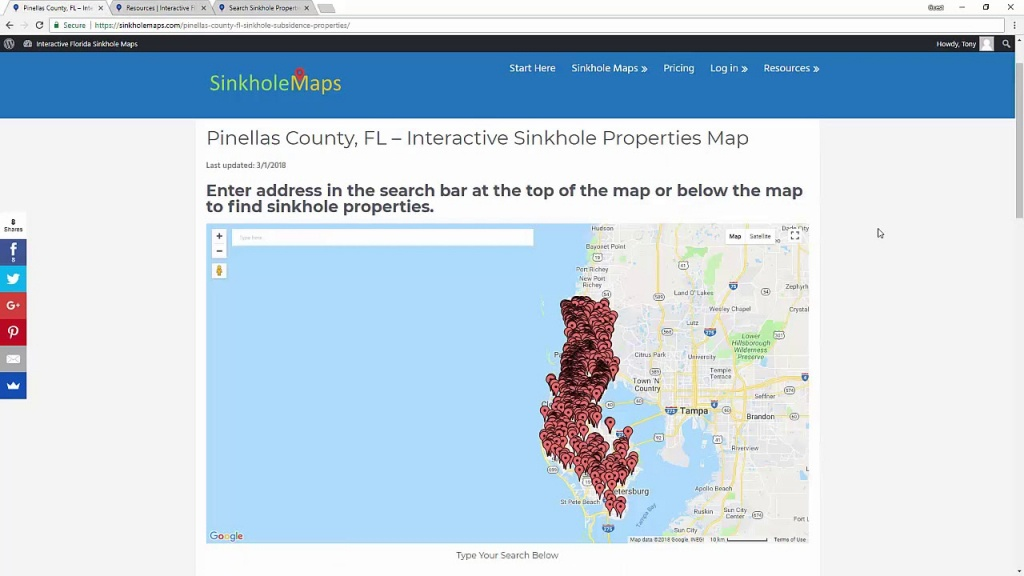 Sinkhole Maps For Home Buyers And Home Owners In Florida - Youtube - Florida Sinkhole Map 2018