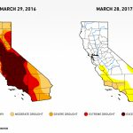 Six Images Show What Happened To California's Drought — Water Deeply   California Drought Map 2017