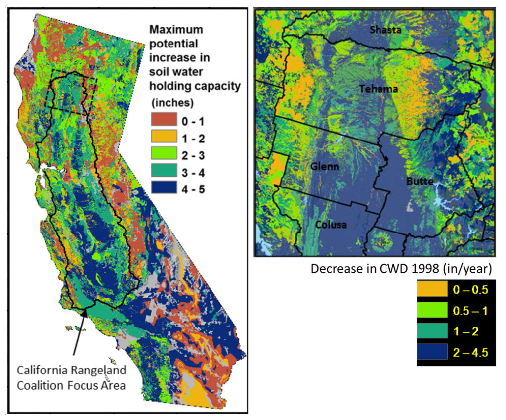 Soil Carbon & Greenhouse Gas Mitigation | Usgs Ca Water Science Center - California Soil Map