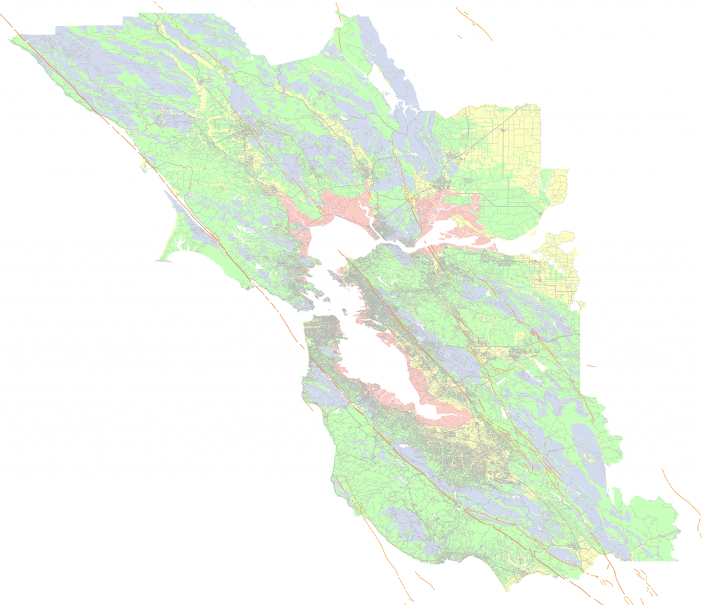 Soil Type And Shaking Hazard In The San Francisco Bay Area - Usgs Gov California Earthquake Map