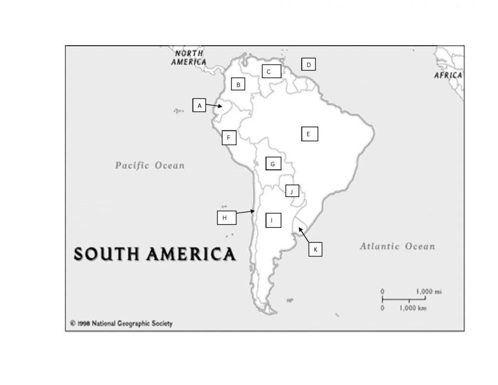 South America Practice Map Test - Proprofs Quiz - Latin America Map Quiz Printable