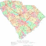 South Carolina Printable Map   Printable Map Of North Carolina