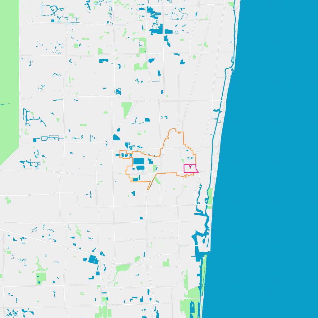South Corals Neighborhood Guide - Oakland Park, Fl | Trulia - Oakland Park Florida Map
