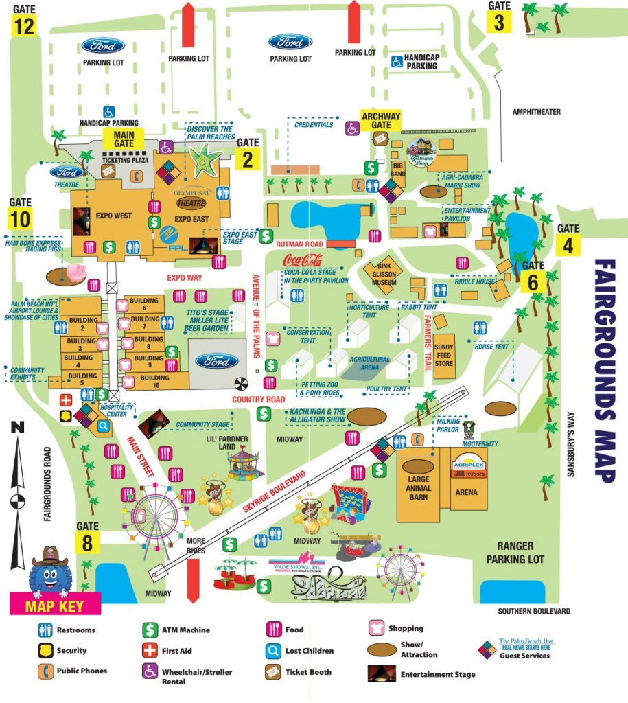 South Florida Fairgrounds Map ~ Cinemergente - Florida State Fairgrounds Map